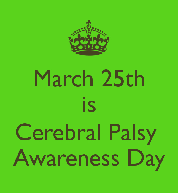 Cerebral Palsy Awareness Day
