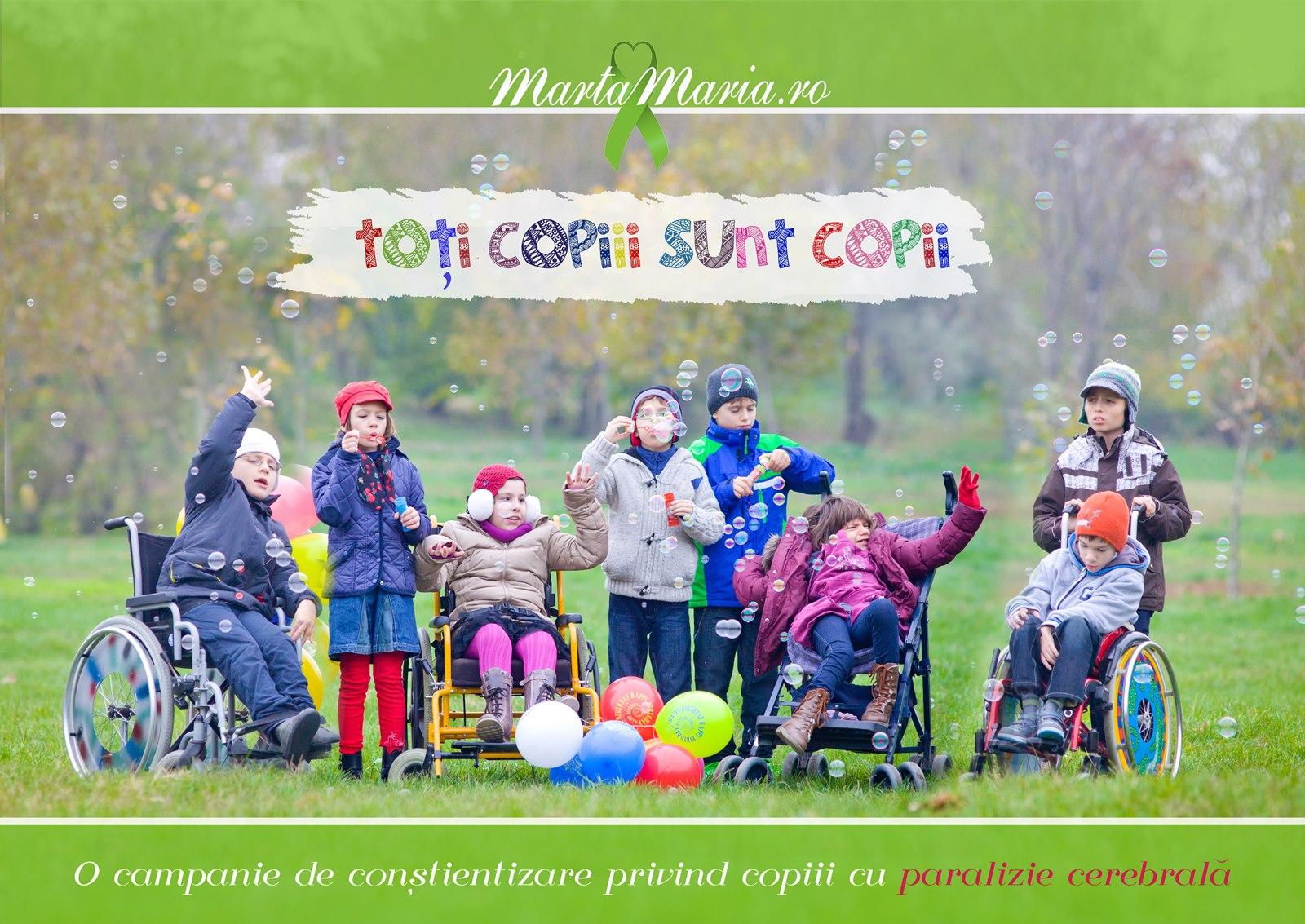 Copii cu paralizie cerebrala