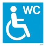 Simbol Toaleta pentru persoane cu dizabilitati
